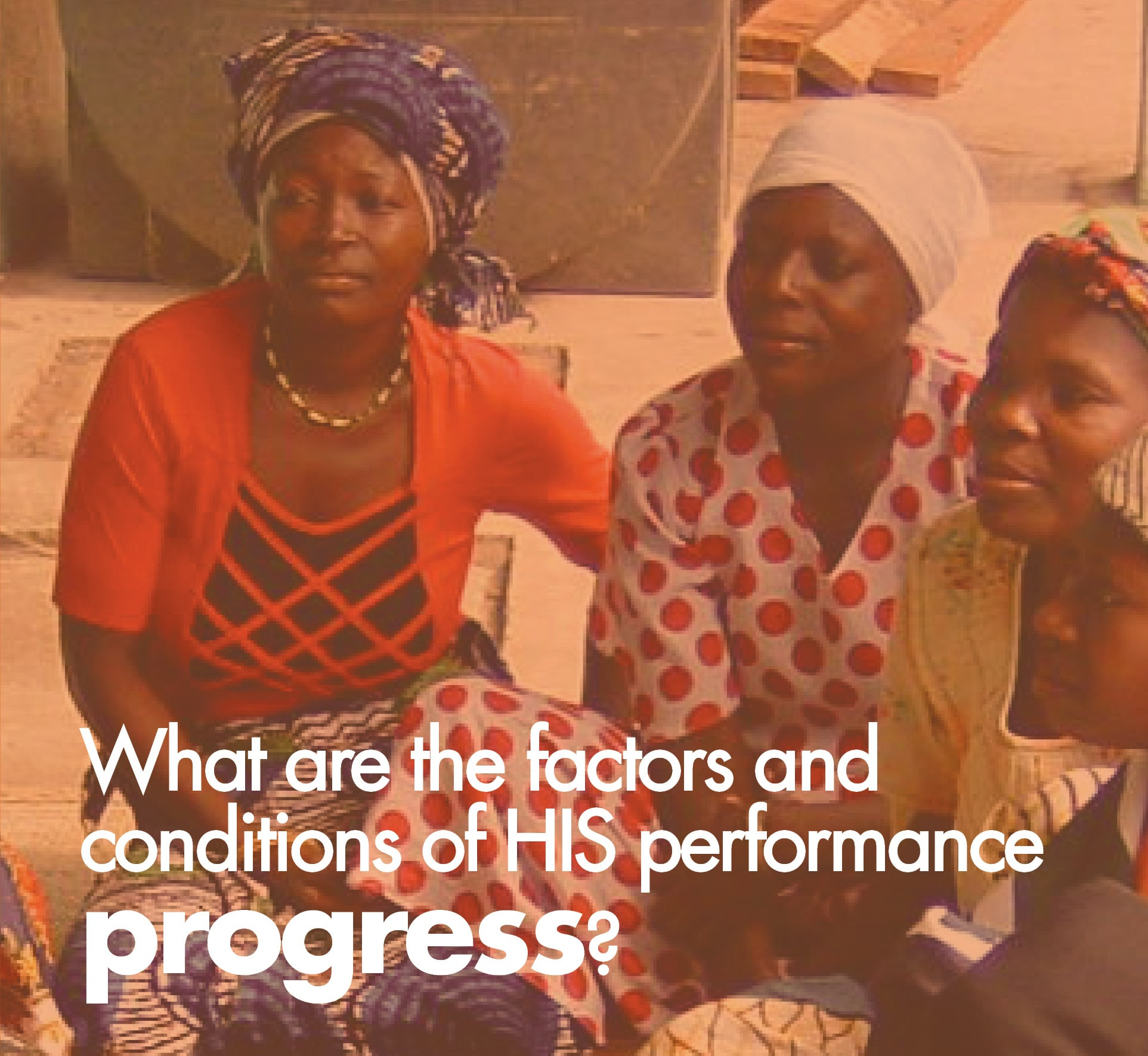 What are the factors and conditions of HIS performance and progress?