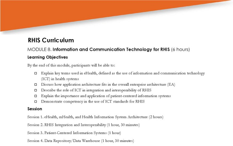 module 8  information and communication technology for