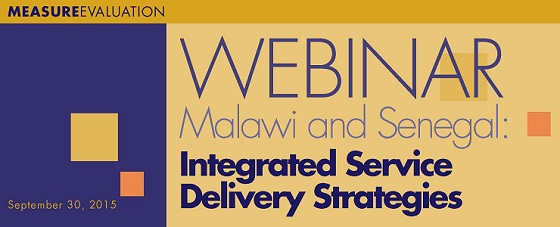 Webinar: Case Studies from Senegal and Malawi