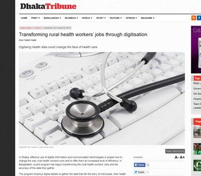 Dhaka Tribune Page