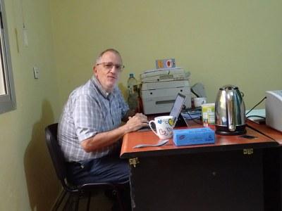 Post 8 Scott at office desk at Ministry.JPG