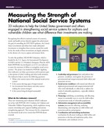 Measuring the Strength of National Social Service Systems: 33 Indicators to Help the United States Government and Others Engaged in Strengthening Social Service Systems for Orphans and Vulnerable Children See What Difference Their Investments Are Making