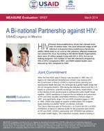 A Bi-national Partnership against HIV: USAID Legacy in Mexico
