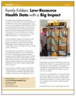 Family Folders: Low-Resource Health Data with a Big Impact