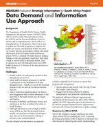 Data Demand and Information Use Approach