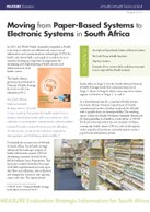 Moving from Paper-Based Systems to Electronic Systems in South Africa