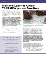 Tools and Support to Achieve 90-90-90 Targets and Save Lives