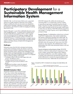 Participatory Development for a Sustainable Health Management Information System