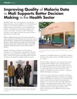 Improving Quality of Malaria Data in Mali Supports Better Decision Making in the Health Sector