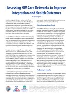Assessing HIV Care Networks to Improve Integration and Health Outcomes in Ethiopia