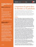 L'importance du genre dans les données sur le paludisme