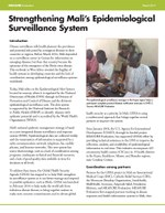 Strengthening Mali's Epidemiological Surveillance System