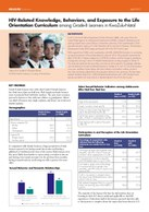 HIV-Related Knowledge, Behaviors, and Exposure to the Life Orientation Curriculum among Grade-8 Learners in KwaZulu-Natal