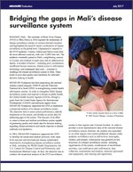 Bridging the gaps in Mali's disease surveillance system