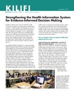 Kilifi: Strengthening the Health Information System for Evidence-Informed Decision Making