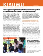 Kisumu:  Strengthening the Health Information System for Evidence-Informed Decision Making