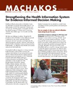 Machakos: Strengthening the Health Information System for Evidence-Informed Decision Making