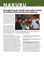 Nakuru: Strengthening the Health Information System for Evidence-Informed Decision Making