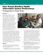 How Kenya Monitors Health Information System Performance – Findings from a Case Study