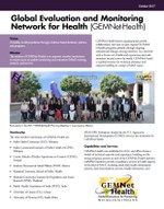 Global Evaluation and Monitoring Network for Health (GEMNet-Health)