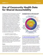 Use of Community Health Data for Shared Accountability