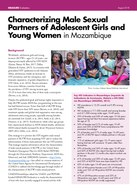 Characterizing Male Sexual Partners of Adolescent Girls and Young Women in Mozambique