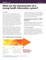 What Are the Characteristics of a Strong Health Information System?