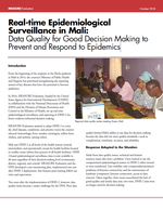 Real-time Epidemiological Surveillance in Mali: Data Quality for Good Decision Making to Prevent and Respond to Epidemics