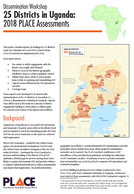25 Districts in Uganda: 2018 PLACE Assessments