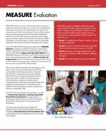MEASURE Evaluation Mozambique Overview