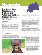 The Cost of Case Management in Orphans and Vulnerable Children Programs: Findings from Rwanda