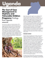The Cost of Case Management in Orphans and Vulnerable Children Programs: Findings from Uganda