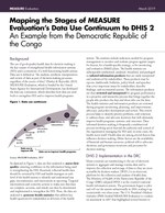 Mapping the Stages of MEASURE Evaluation's Data Use Continuum to DHIS 2: An Example from the Democratic Republic of the Congo