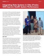 Integrating Data Systems in Côte d'Ivoire Will Improve Health System Performance