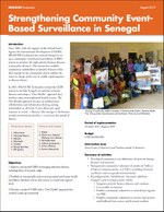 Strengthening Community Event- Based Surveillance in Senegal