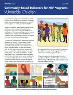 Community-Based Indicators for HIV Programs: Vulnerable Children