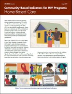 Community-Based Indicators for HIV Programs: Home-Based Care