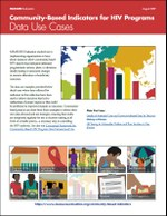Community-Based Indicators for HIV Programs: Data Use Cases