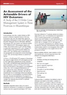 An Assessment of the Actionable Drivers of HIV Outcomes: A Study of the COVida Case Management System in Three Provinces in Mozambique