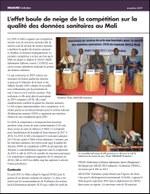 L'effet boule de neige de la compétition sur la qualité des données sanitaires au Mali