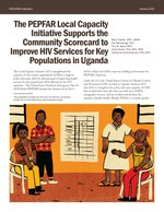 The PEPFAR Local Capacity Initiative Supports the Community Scorecard to Improve HIV Services for Key Populations in Uganda