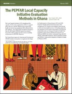 The PEPFAR Local Capacity Initiative Evaluation Methods in Ghana