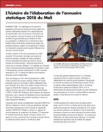 L'histoire de l'élaboration de l'annuaire statistique 2018 du Mali