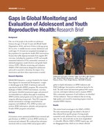 Gaps in Global Monitoring and Evaluation of Adolescent and Youth Reproductive Health: Research Brief