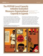 The PEPFAR Local Capacity Initiative Evaluation Measures Organizational Capacity in Uganda