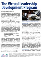 Fact Sheet: The Virtual Leadership Development Program