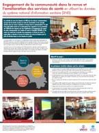 Engagement de la communauté dans la revue et l'amélioration des services de santé en utilisant les données du système national d'information sanitaire (SNIS)