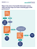 Decision Tree for Assessing Health Information System Status