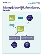 Decision Tree to Assess Capacity for Monitoring and Evaluation and to Manage Health Information Systems