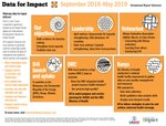 Data for Impact: Semiannual Report Summary